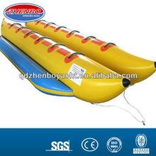 inflatable banana boat/ double tube banana dinghy