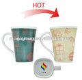 Tasses verres Type et grès céramique Type irlandais verre de café