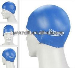 new fashion factory price colourful latex swim caps