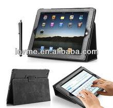 Magnetic Leather Case Smart Cover for New iPad 4 iPad 3 iPad 2 with Sleep Wake