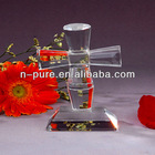 Crystal Cross with Stand