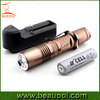 Super power 1000lumen 18650 10W charger torchlight, Aluminum Rechargeable Flashlight