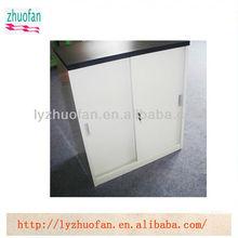 compact vertical sliding door steel filing cabinet