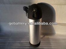 LiFePo4 e-bike dolphin/tube/ bottle battery 24V 9Ah