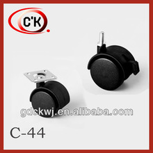 High quality nylon office chair caster wheels for furniture