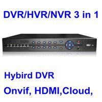 DVR/HVR/NVR 3 in 1 iDVR,Cloud DVR,Hybird DVR,Onvif,DVR HDMI, mini car dvr