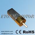 metal mini motor da engrenagem pequena 6v 12v sentido bloqueio motor elétrico