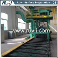 Ruvii Steel plate and H beam shot blasting equipment
