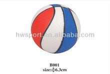 Colorful basketball Anti Stress Ball