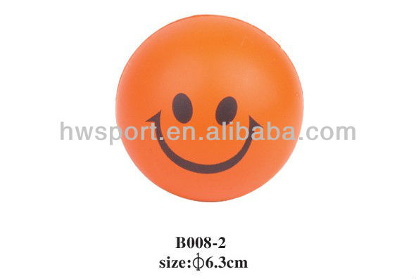 High Quality Imprint Anti Stress Ball For Promotion