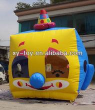 Newly Cartoon clown bouncer,clown inflatable
