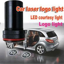 led car door logo light 12V 3w car logo laser projector for custom processing