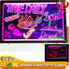 led advertising light board best for restaurant menu promotion