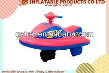 PVC inflatable superior jet ski games water jet ski EN71 approved