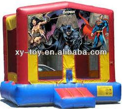 Superhero bounce house
