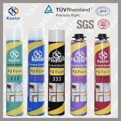 Spray Adhesive Sealant Large Expansion Polyurethane Foam