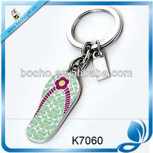 slipper shape metal key holder