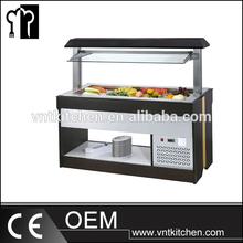 Restaurant Fancooling Refrigerated Salad Bar