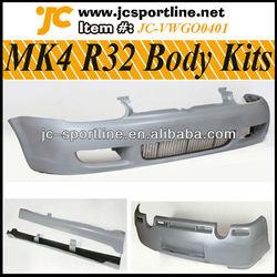 03-05 PU R32 MK4 Body Kits For VW Golf IV MK4 R32 Bumper Kits