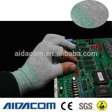 EN388,Nylon material,polyurethane ESD Gloves