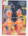 Turquie jouets en plastique tpr fronde, la turquie jouet collant