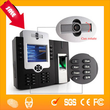 High Resolution Camera Fingerprint Time Clock with 50000 Fingerprint Users HF-iCLock800Plus