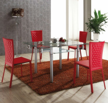 (L815) Cool Dining Room Sex Tables Tempered Printing Glass
