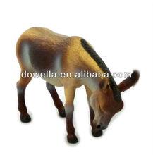 Animal toys plastic Mule,OEM animal plastic toys