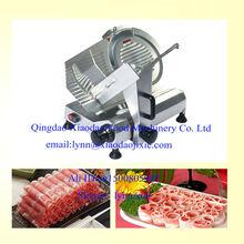 Frozen Mutton Meat Slice machine / sausage slicer