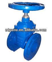 oilfield products gate valve DIN F15 Non-Rising Stem Gate Valve