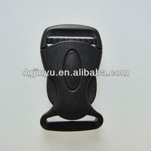 Fixed Curved Plastic Adjustable Buckle for Webbing