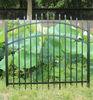 Black Aluminum Fence Gate