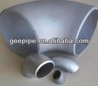 90 degree long radius galvanized steel elbow