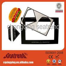 2012 new product promotion paper pre cut fridge magnets for fridge