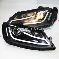 For VW New Jetta MK6 / Sagitar LED Headlight 2012 year JY Type
