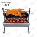 Motor eléctrico/mano operration heavy duty kebab parrilla de barbacoa