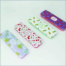 LANGUO hot selling cute design tin pencil bag for kids model:LGCDB-910