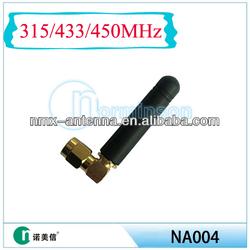 Maufacture 433M antenna, stubby rubber duck wireless antenna