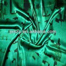silk satin pure silk fabric print silk fabric