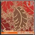Jacquard chenilla sofá o cortina de tapicería textil