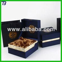 Custom silk gift boxes handmade,paper packaging box