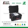 Plastic equipment case protective tool box