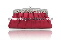 CZ-1120-1 Ladies satin jewelry bags