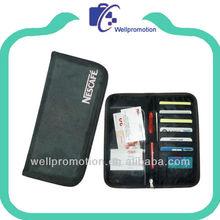 Wellpromotion microfiber l travel organizer wallet