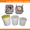 Bucket injection plastic mould