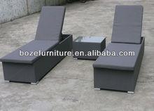 Textileen sun Lounger / outdoor furniture garden chaise lounge