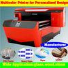 Multicolor UV Flatbed Digital Printer Machine Price with Durable no fade characteristic