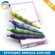 Small Simple School Plastic Click Ball Pen