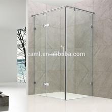 Caml bisagra de acero de pivote de la puerta de vidrio para duchas