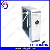 Automatic tripod turnstile waist high speedgate security turnstile card reader door access control system